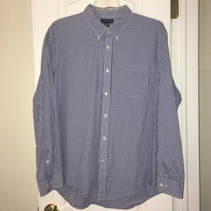 Lands'  End Plaid Button Down